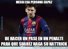 Los Memes De Messi - los memes del penalti indirecto de messi deportes taringa