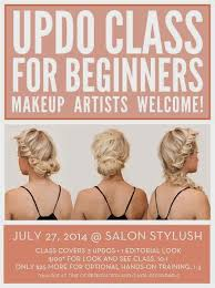 hair stylist classes hairstylist educational updo class confessions of a hairstylist