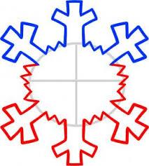 how to draw snowflake hellokids com
