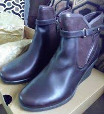 ugg australia womens emalie brown stout leather ankle boot 7 ebay ugg australia high 3 in and up leather s us size 7 ebay