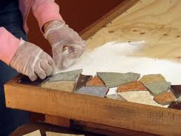 how to make a mosaic table top how to make a mosaic tile tabletop tile tables patio table and