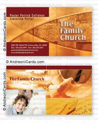 card design sle the family church