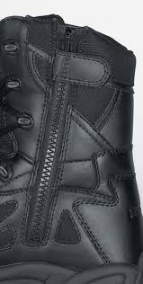 mens reebok 8 inch waterproof side zip boots