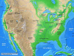 colorado physical map usa contiguous usa physical map a learning family