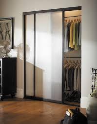 Tempered Glass Closet Doors Cw Wardrobe Doors Silhouette