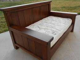 queen size daybed from plan new basement pinterest