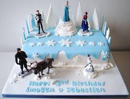 frozen birthday cake decorations amazing birthday cake