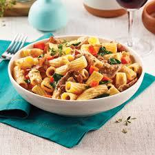 recette avec de cuisine rigatonis au boeuf à fondue recettes cuisine et nutrition
