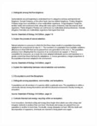 Virtual Frog Dissection Worksheet Ch 1learningoutcomeqa 1 Biol 1111 Learning Outcome Questions