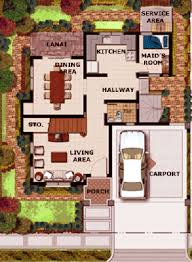 Floor Plan For Two Storey House In The Philippines 3 Storey House Plans Philippines House Interior