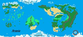 Pathfinder World Map by Fantasy World Map