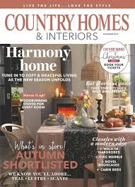 country homes and interiors magazine subscription country homes interiors magazine october 2017 subscriptions