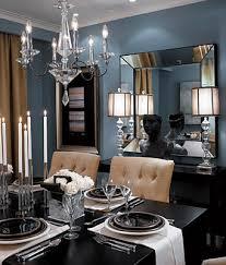 Light Blue Dining Room Formal Blue Gray Dining Room Benjamin Cloudy Sky Flickr