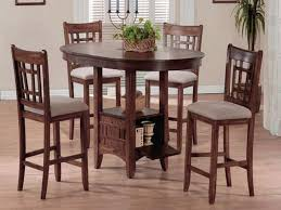 Kitchen Impressive Charming Bar Height Tables  Counter Pertaining - Elegant dining table with bar stools residence