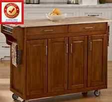 portable kitchen island oak kitchen islands kitchen carts ebay