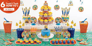 minions party supplies minion cake supplies cupcake cookie ideas party city home