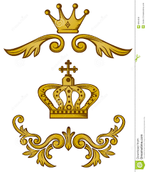 ornament crown royalty free stock images image 9664039