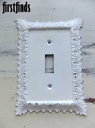 Shabby Chic Light Switch Covers by 45 Best Outlet Covers Images On Pinterest Outlet Covers Switch