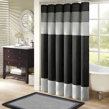 Cool Shower Curtains For Guys Bay Window Curtains Gray Patterned Curtains Cool Shower Curtains