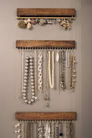 jewelry holder necklace images Best 25 jewelry hanger ideas jewelry organizer wall jpg