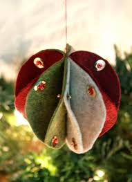 handmade tree ornaments the 25 best fabric