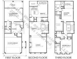 New Floor Plan Town House Building Plan New Town Home Floor Plans Townhome