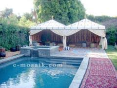 moroccan tents moroccan themed royal party tents e mosaik