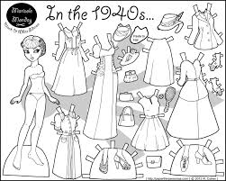 coloring pages impressive paper doll coloring pages paper