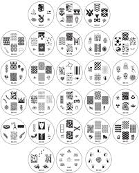 nail art nail art stamping plates target best shop for halloween