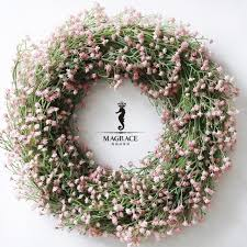 mantianxing artificial hanging flowers wreath decoration