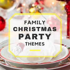 family christmas party themes