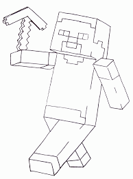 free minecraft coloring pages pdf coloring home