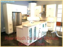 Price Of Kitchen Cabinets Price To Install Kitchen Cabinets How Much Does It Cost To Install