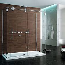 Shower With Door Schicker Luxury Shower Doors Shower Glass Installation