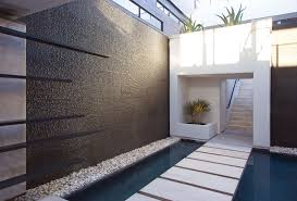 Backyard Feature Wall Ideas Spend Quality Time Around The Water Wall Woods Water