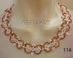 ornament necklace silver