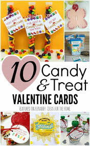 candy cards cards for kids 10 candy and treat ideas