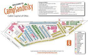 Ohio Campgrounds Map by Camp Sandusky 5 Photos Sandusky Oh Roverpass