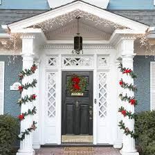 Christmas Decoration For Front Door by 20 Great Christmas Front Door Decorating Ideas Style Motivation