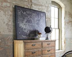 the industrial chic office design ashley furniture homestore