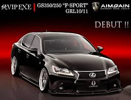 lexus gsf sport aimgain released lip kit for lexus gs350 f sport ravspec