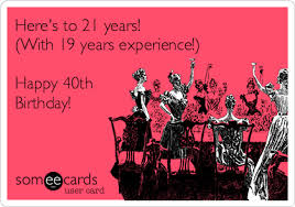 search results for 40th birthday ecards from free and funny 40th
