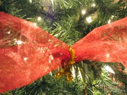 christmas mesh ribbon how to decorate a christmas tree with wide mesh ribbon the