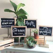 reserved signs for wedding tables chalkboard sign customized sign gift table sign wedding