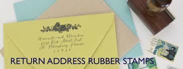 Stamps For Wedding Invitations Custom Return Address Stamps