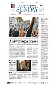 how charleston u0027s paper captured the response to a horrific church