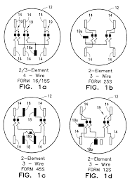patent us7253605 configurable utility meter connection interface