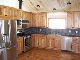 hickory kitchen cabinet design ideas astonishing hickory cabinets decorating ideas for kitchen