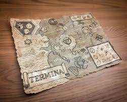 Map Of Hyrule Zelda Map Termina Map Hyrule Map Legend Of Zelda Majoras