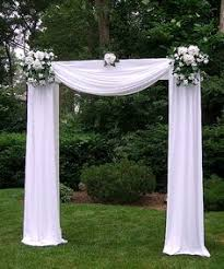 Wedding Archway Tulle Decorated Wedding Arches Any Of Dream Days Rental Items